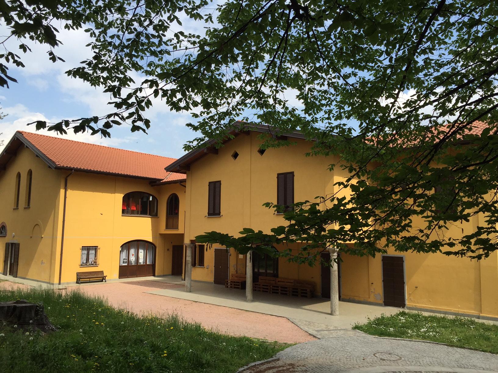 Cascine villa Colombo Oggiona con Santo Stefano