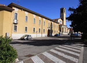La piazza di Albizzate
