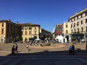 La piazza di Gallarate