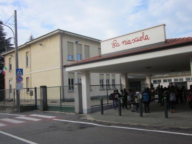 Scuola Oggiona con Santo stefano