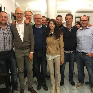 La squadra di Graziano Maffioli